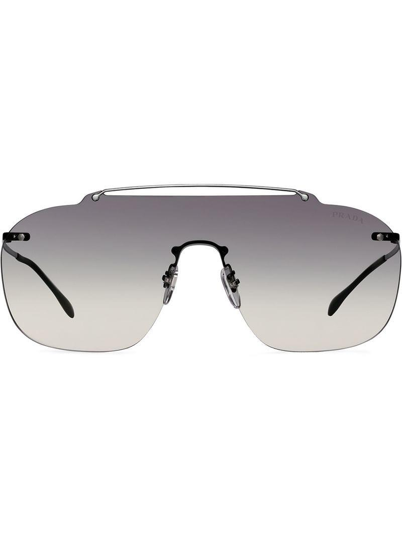 e2605991c4063 Lyst - Prada Linea Rossa Constellation Sunglasses in Gray for Men