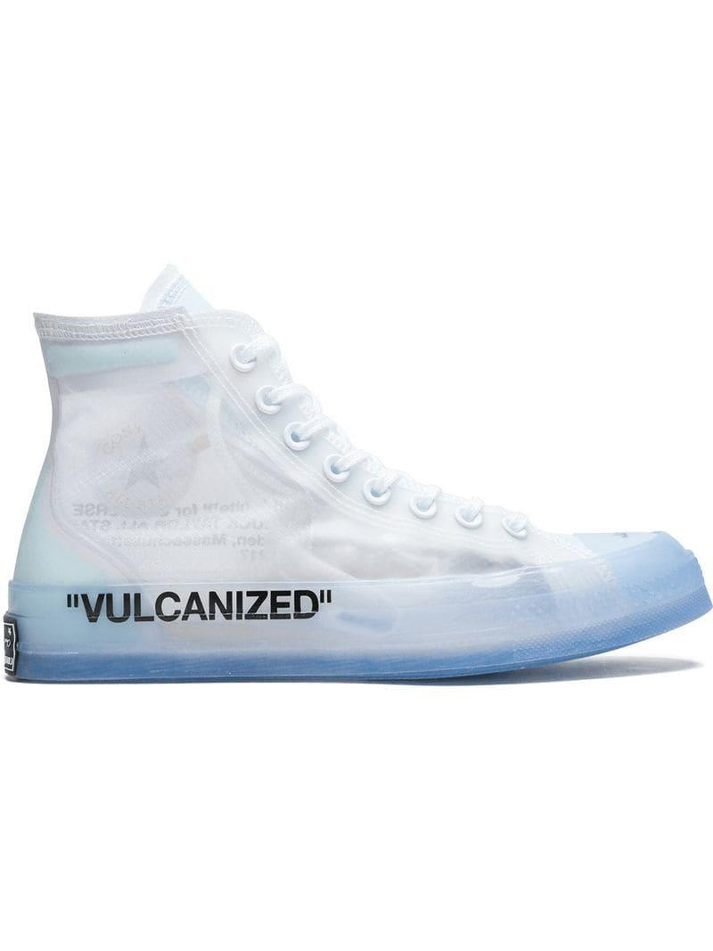 77dffb5b03c Converse X Off-white Chuck 70 Hi-top Sneakers in White for Men - Lyst