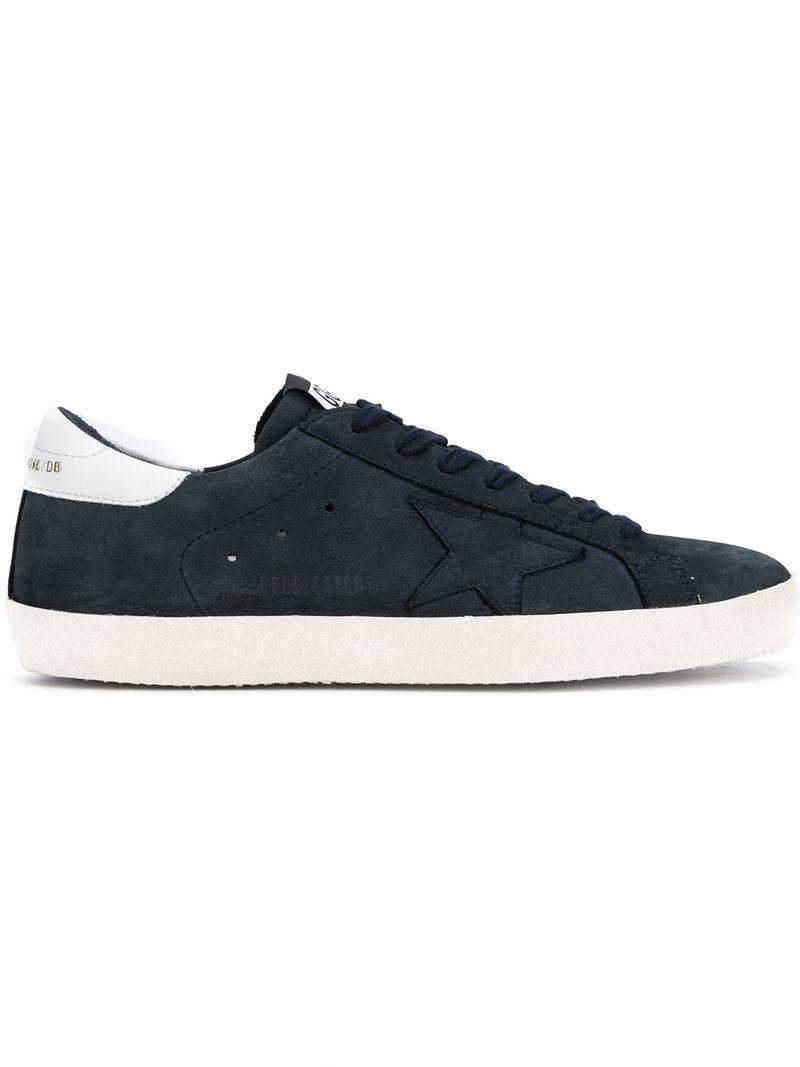 6afc8a96d0c82 Golden Goose Deluxe Brand Star Lace Up Sneakers in Blue for Men - Lyst