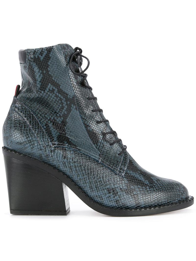 1ad7c2fb67d Clergerie Moca Boots in Blue - Lyst