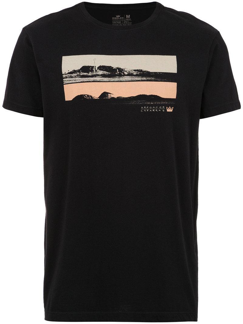 OSKLEN Vintage Arpoador t-shirt T39mv0cHHB