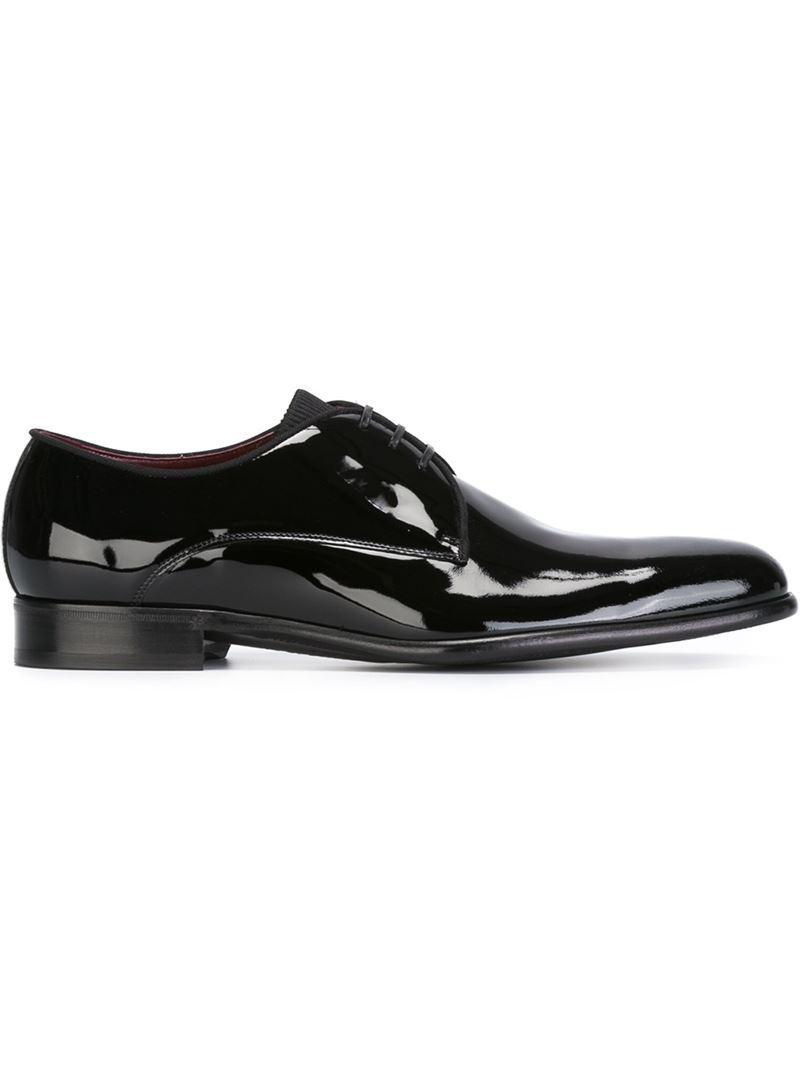 varnished oxford shoes - Black Dolce & Gabbana ydxRgjk