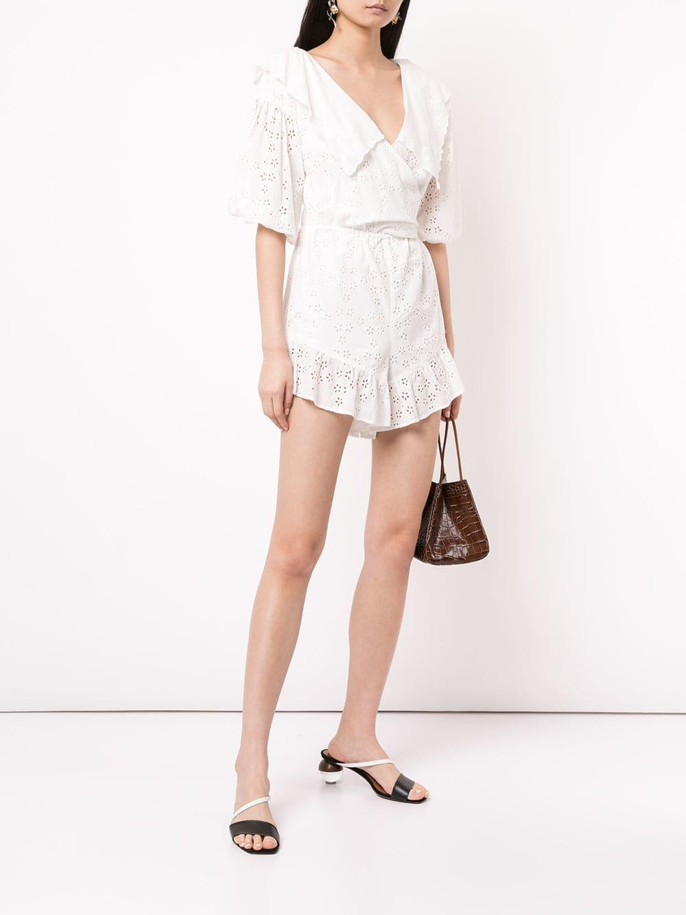 7b1b1fdcf6 Lyst - Alice Mccall Wilde Grotto Playsuit in White
