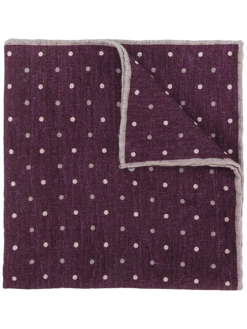 two tone handkerchief - Grey Eleventy Ii29Y