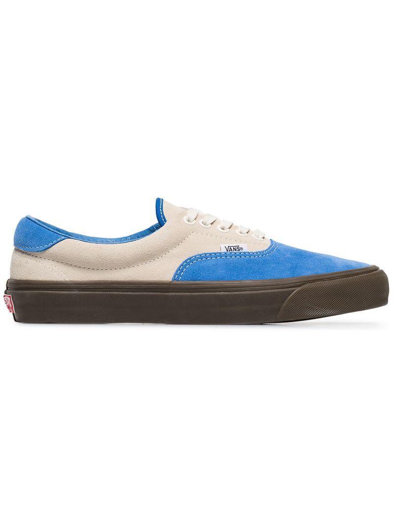 669c1673f3 Vans - Vault 59 Blue Suede Skate Sneakers for Men - Lyst. View fullscreen