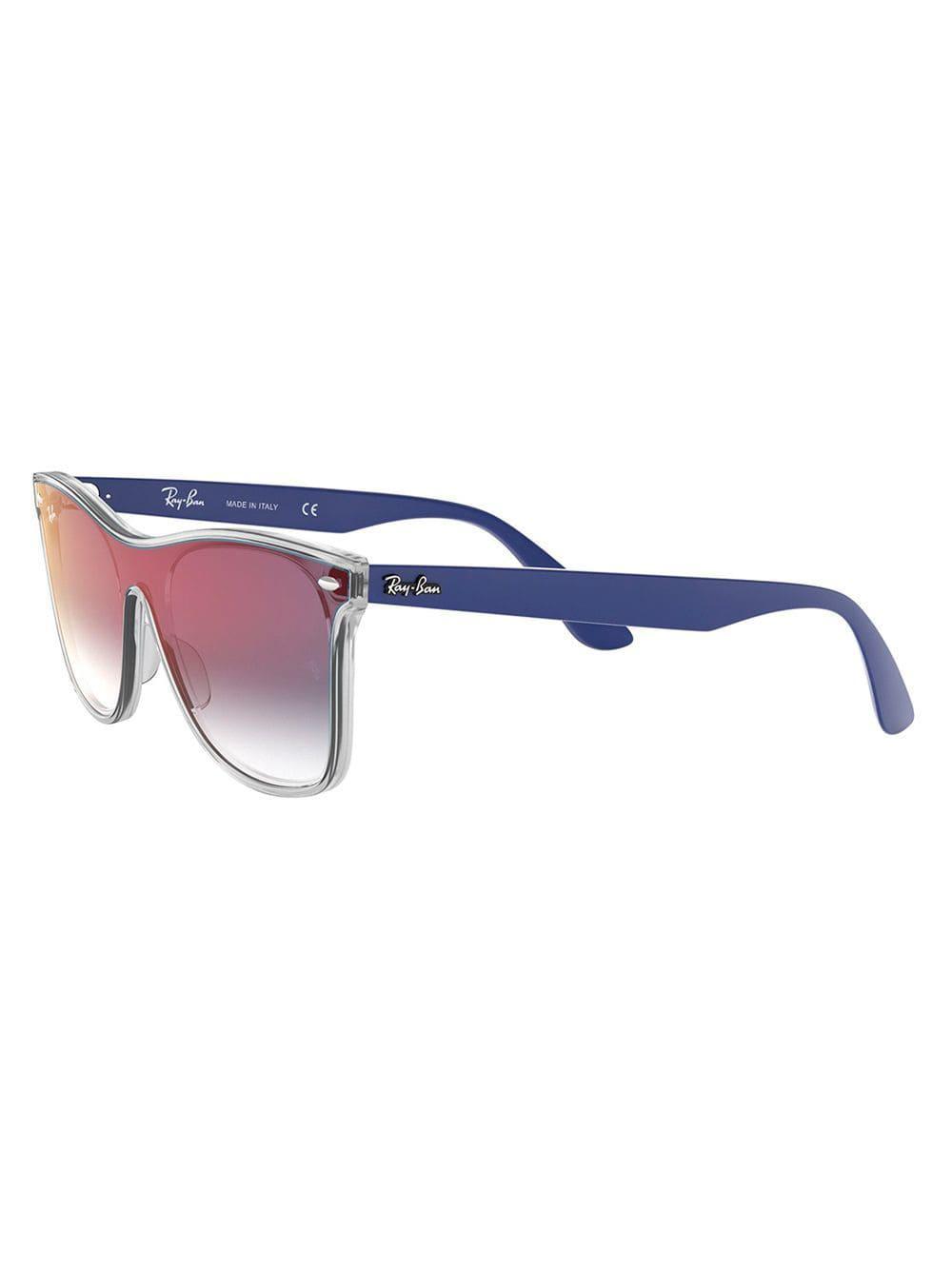 Ray-Ban - Blue Óculos De Sol Rb4440n - Lyst. View fullscreen fdabeeb061