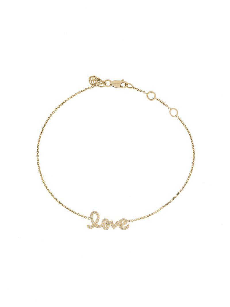 Sydney Evan 14k Micropavé Diamond Bar Bracelet 83cjP0