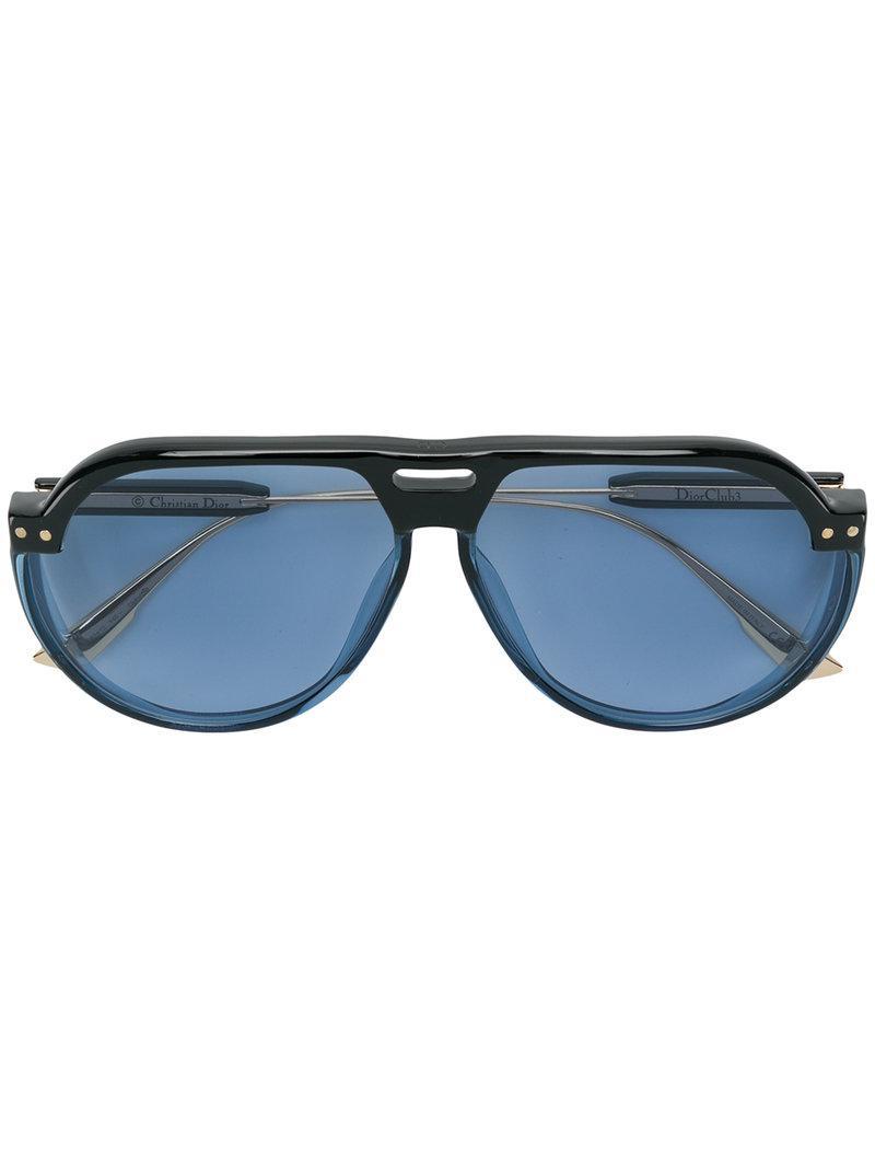 Lyst - Gafas de sol Dior Club 3 Dior de color Azul 452ffaca0592