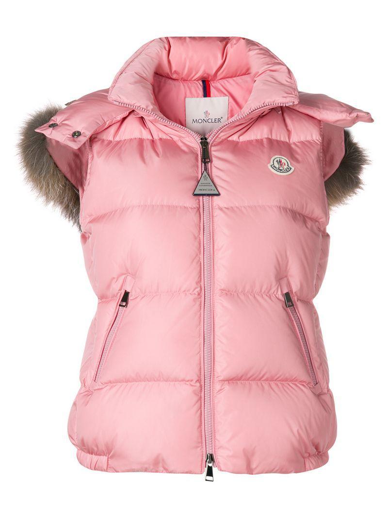ad0ce7bd0461 amazon moncler vest pink new album c91d8 fe093