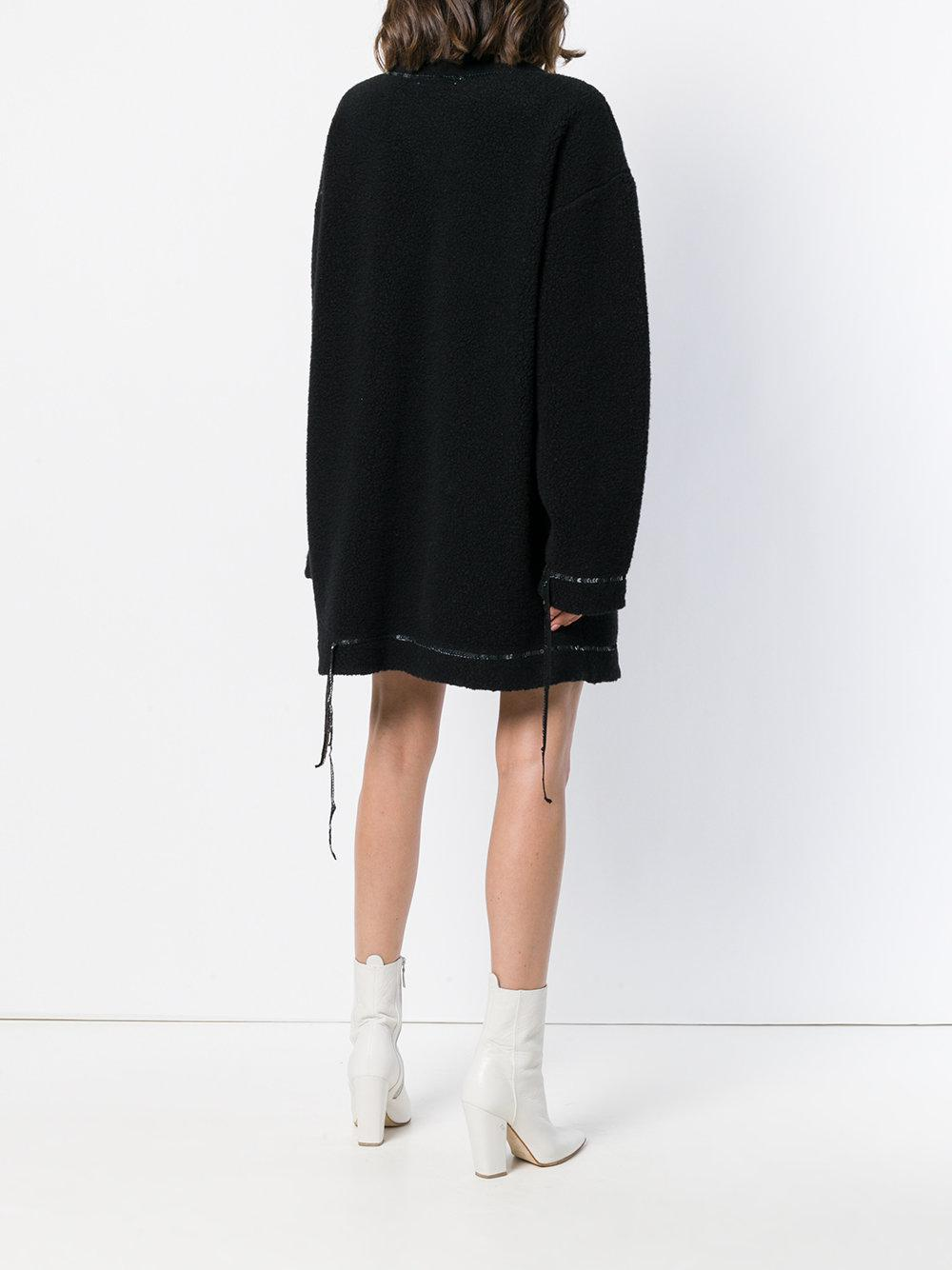 Mm6 Maison Margiela sequin embellished oversized sweater dress 2018 New Cheap Price Release Dates Cheap Price Quality For Sale Free Shipping 2018 Newest Cheap Price X41qxN