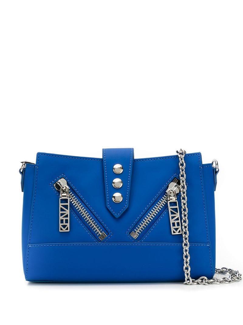 86570065 Lyst - KENZO Tiny Kalifornia Crossbody Bag in Blue