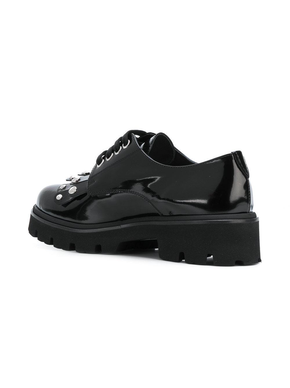 BALDININI Chunky oxford shoes vlbTAI