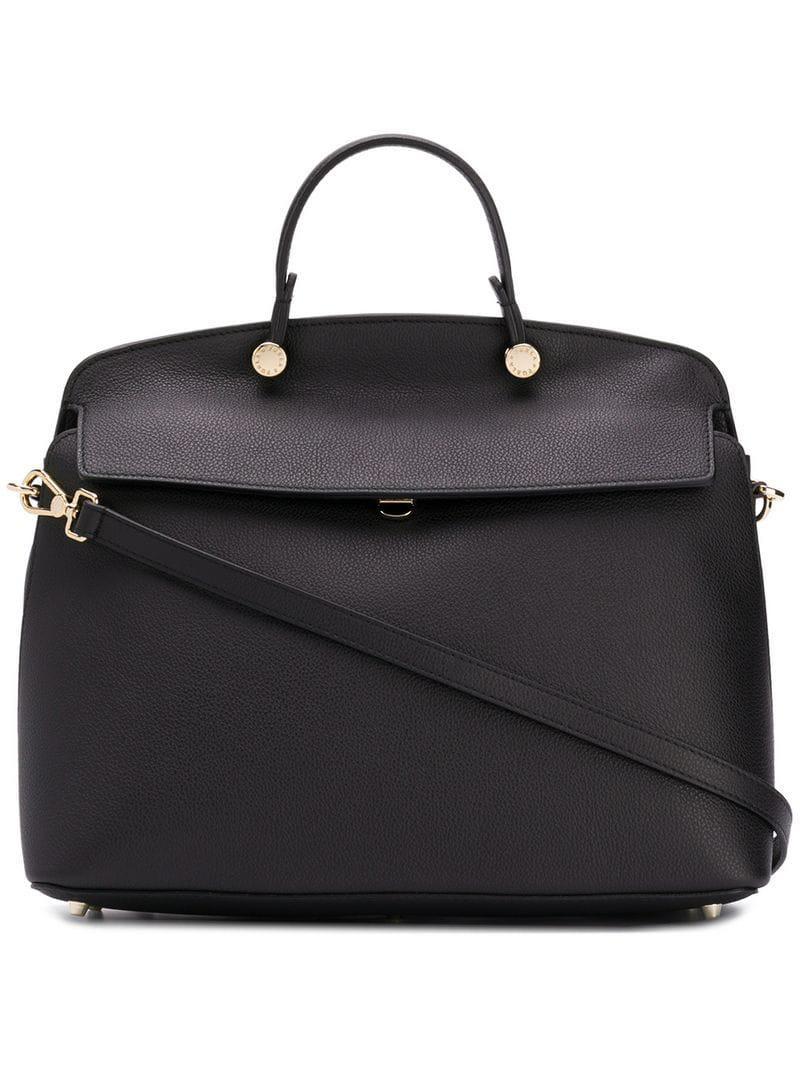 015cb338965e Lyst - Furla My Piper Tote Bag in Black