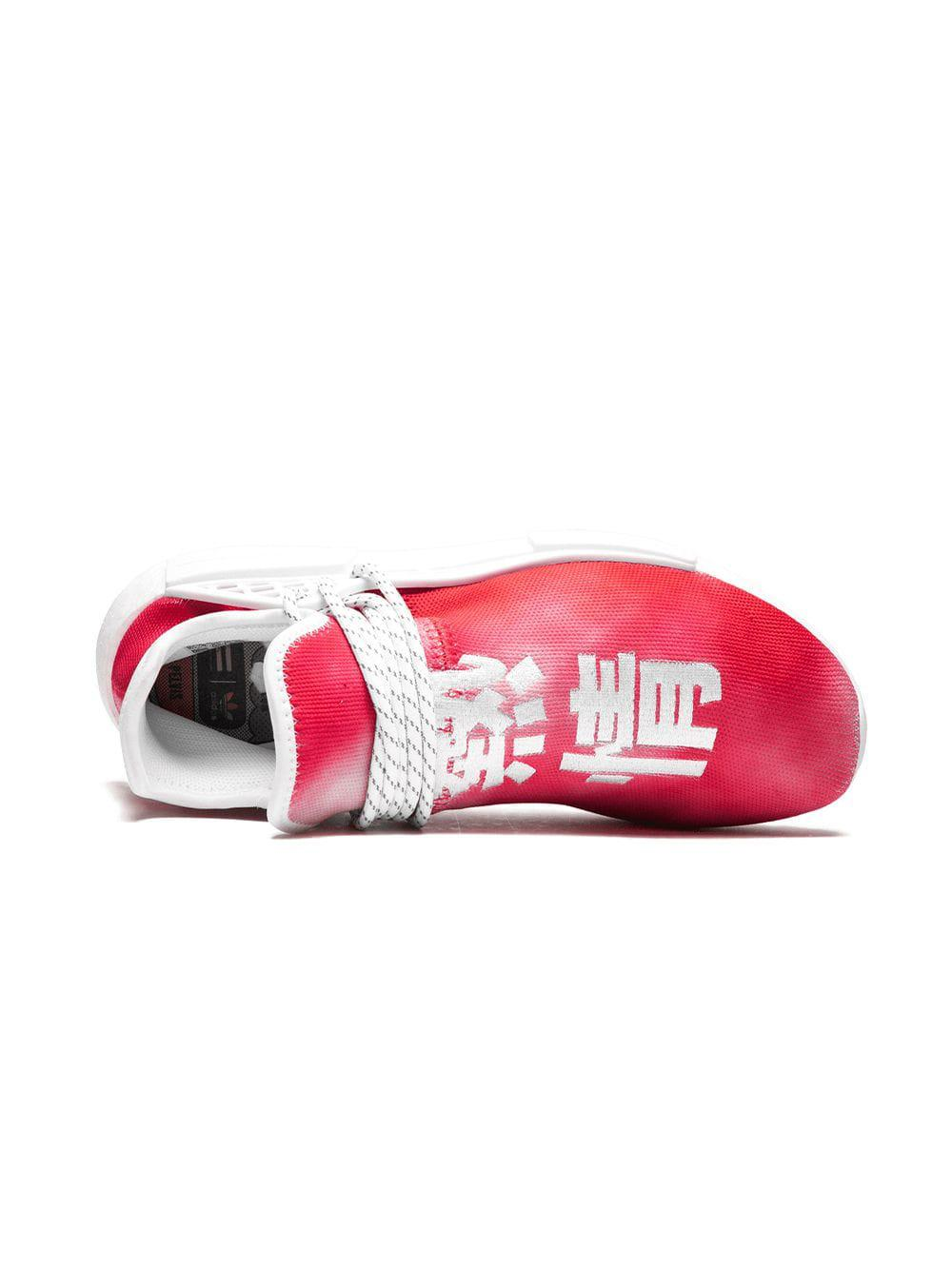 f02defe6a270e1 Adidas Originals - Red Pw Hu Holi Nmd Mc Sneakers for Men - Lyst. View  fullscreen