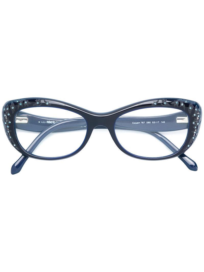 ce1e866861 ... Gafas con montura cat eye - Lyst. Ver en pantalla completa
