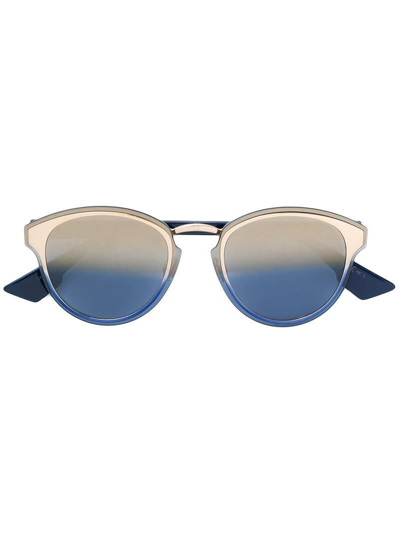 Lyst - Dior Nightfall Sunglasses in Blue bde4c12d20a70