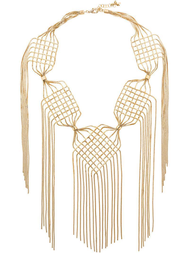 Rosantica Aquilone necklace - Metallic XLYYnVB3d
