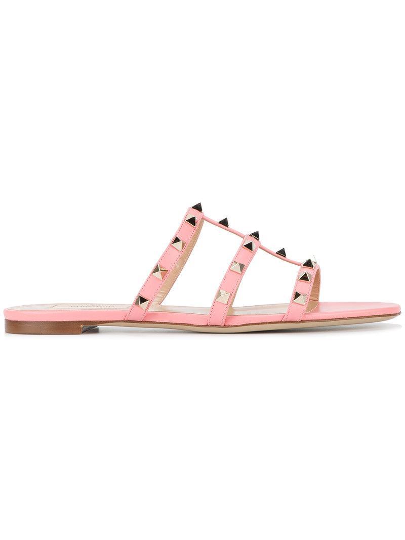 Kenzo Pink Valentino Garavani Glassglow Bow Sandals zdkkpxRe3