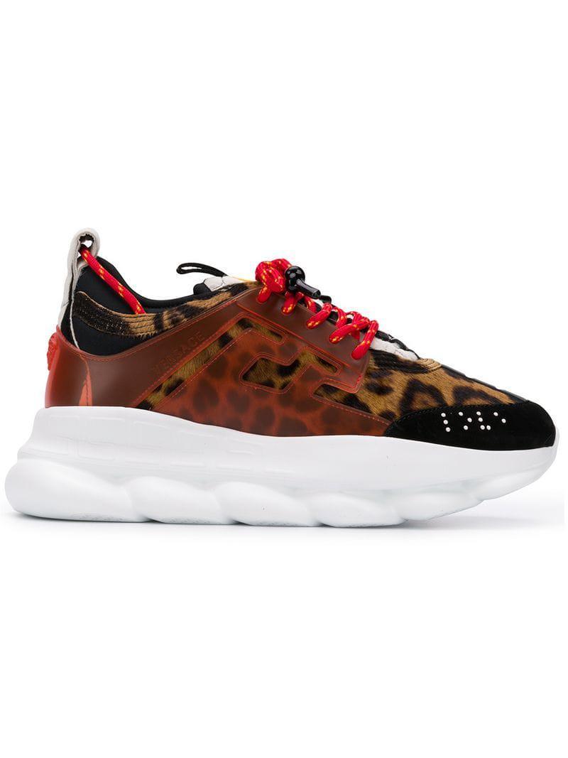hot sale online 1b934 9d302 Versace. Zapatillas Chain Reaction de hombre ...