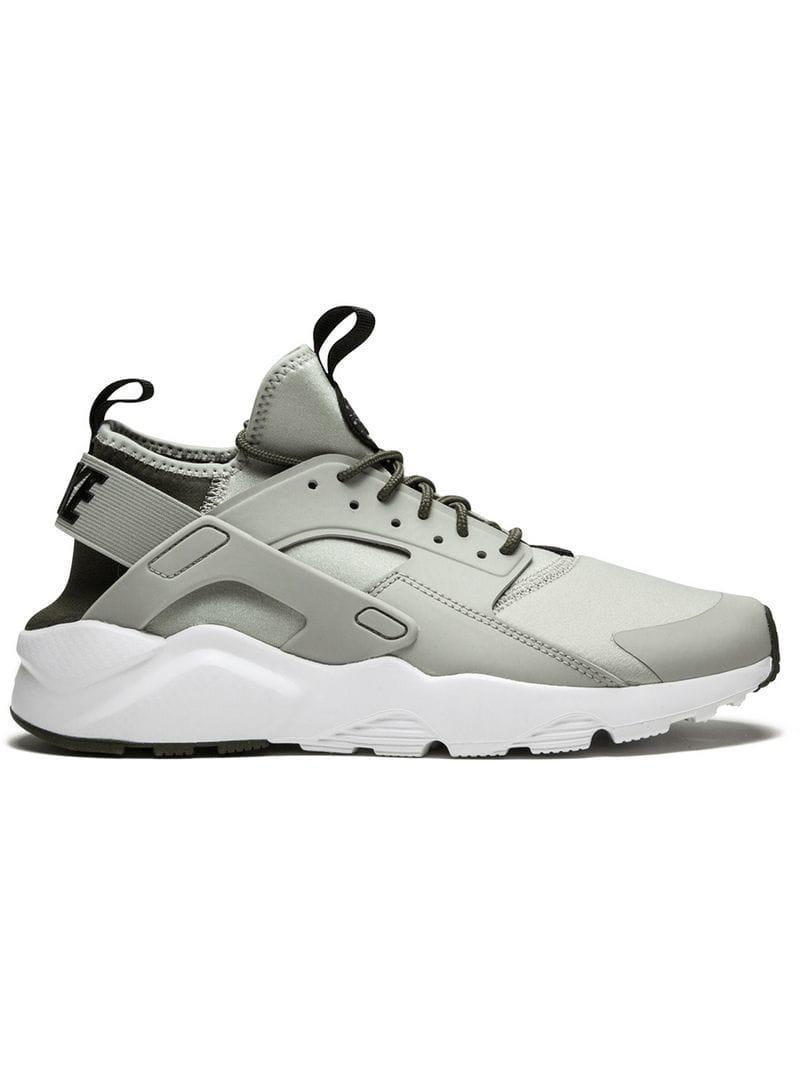 the best attitude 69aff 3ebc2 Nike - Gray Air Huarache Run Ultra Sneakers for Men - Lyst. View fullscreen