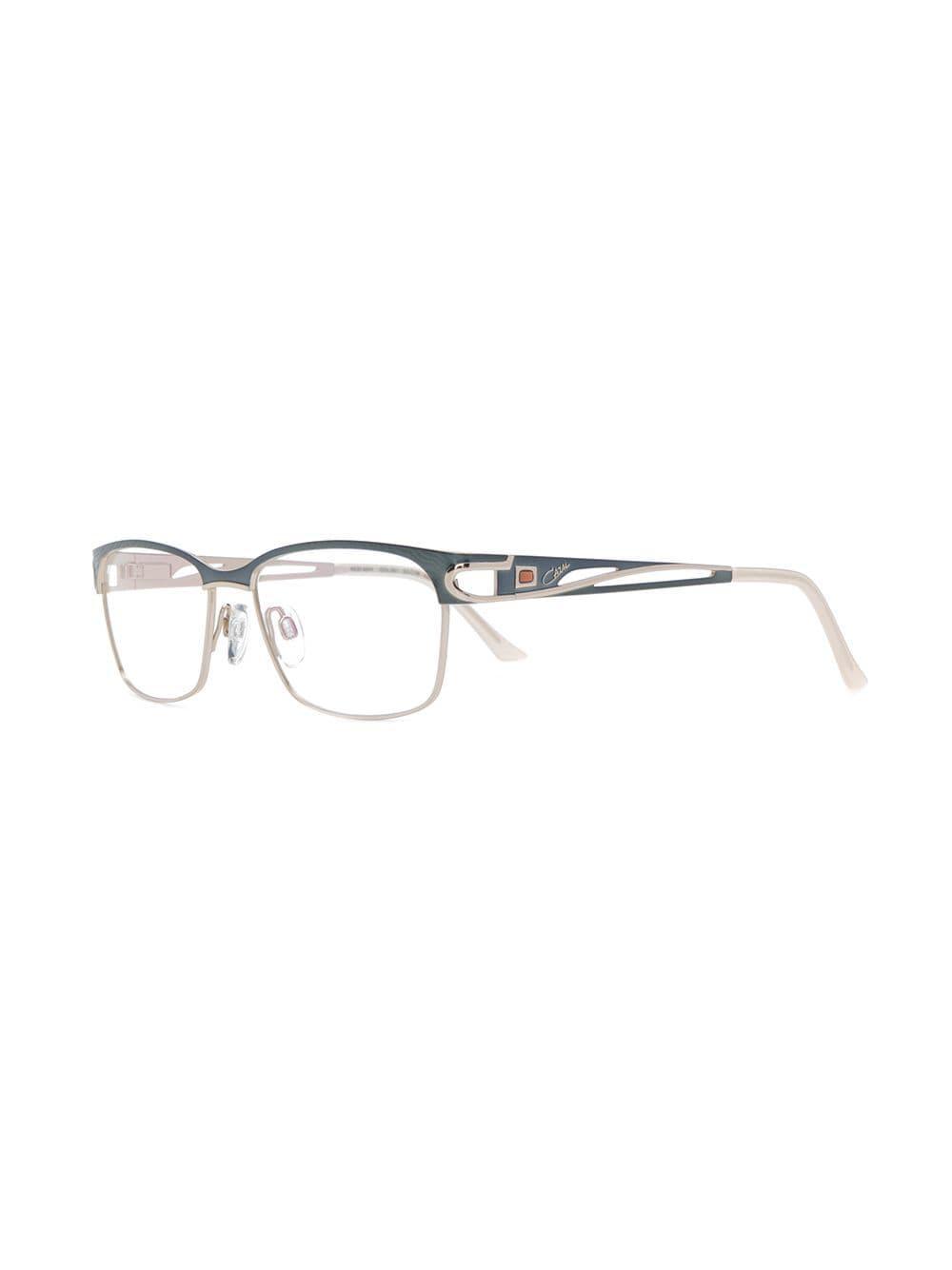 1b9aeec1a8e4 Cazal Rectangle Frame Glasses - Lyst