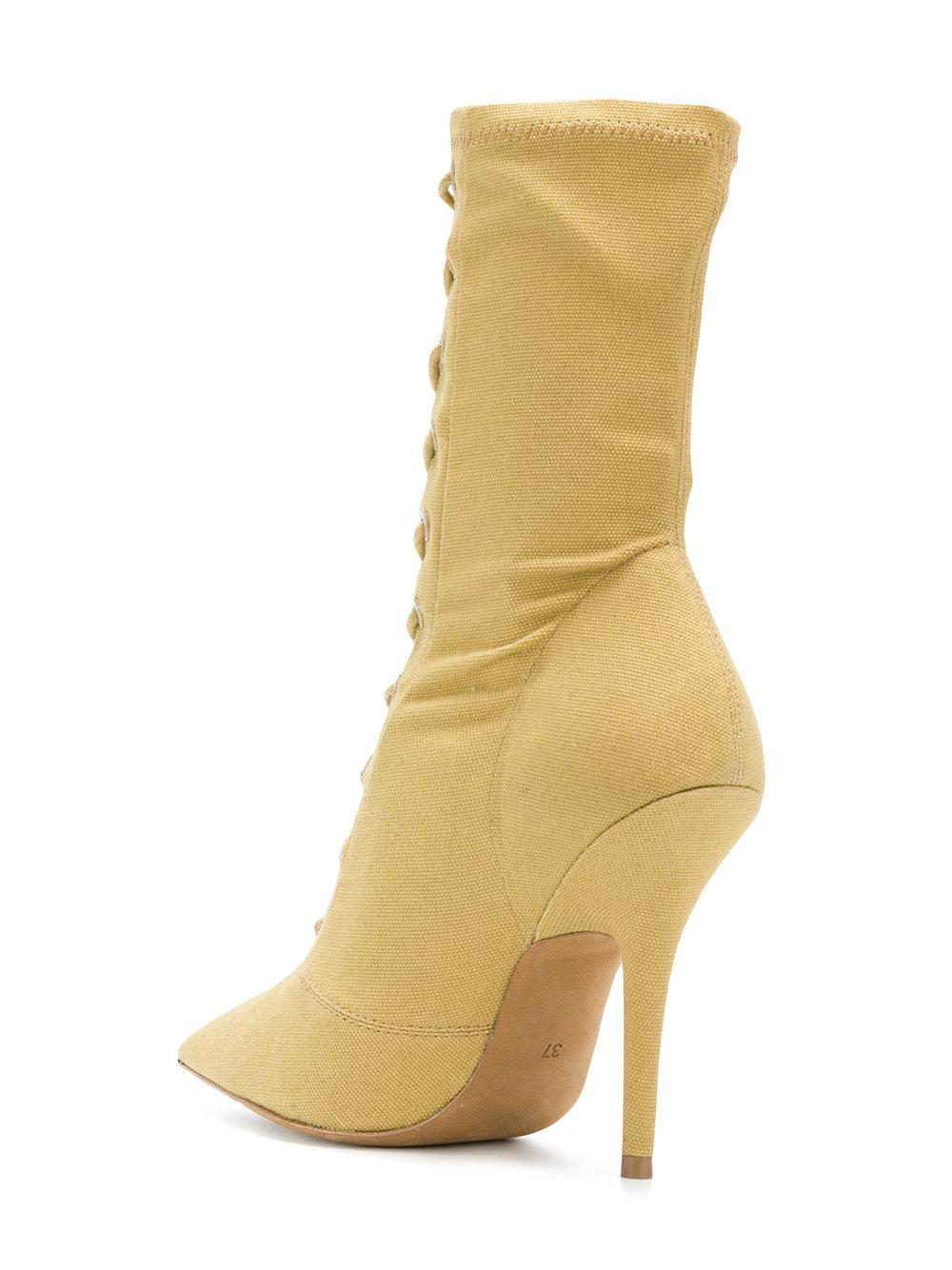 Season 6 ankle boots - Yellow & Orange Yeezy by Kanye West AY6tFEueVg