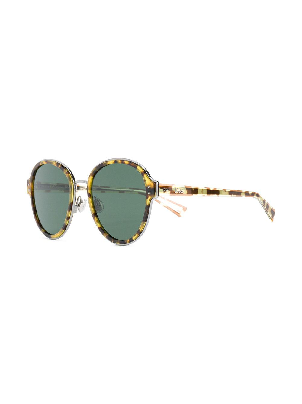 celestial tortoiseshell effect sunglasses - Yellow & Orange Dior BV6s0K