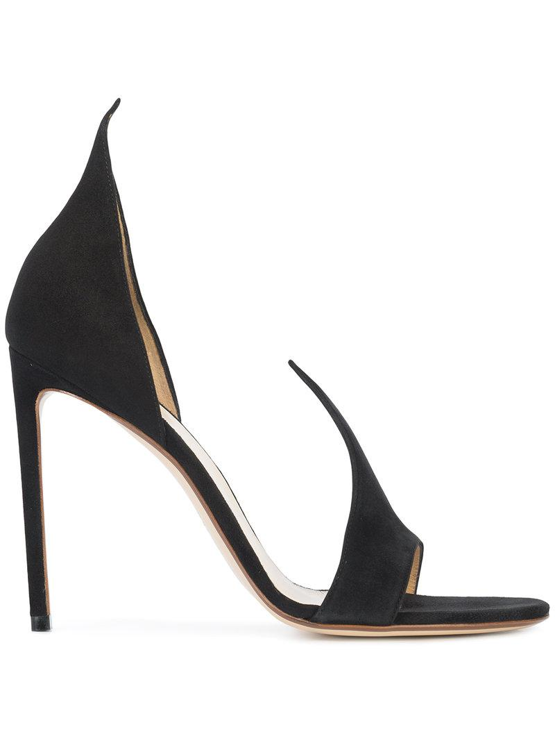 Francesco Russo Pointed strap pumps u4EZxY