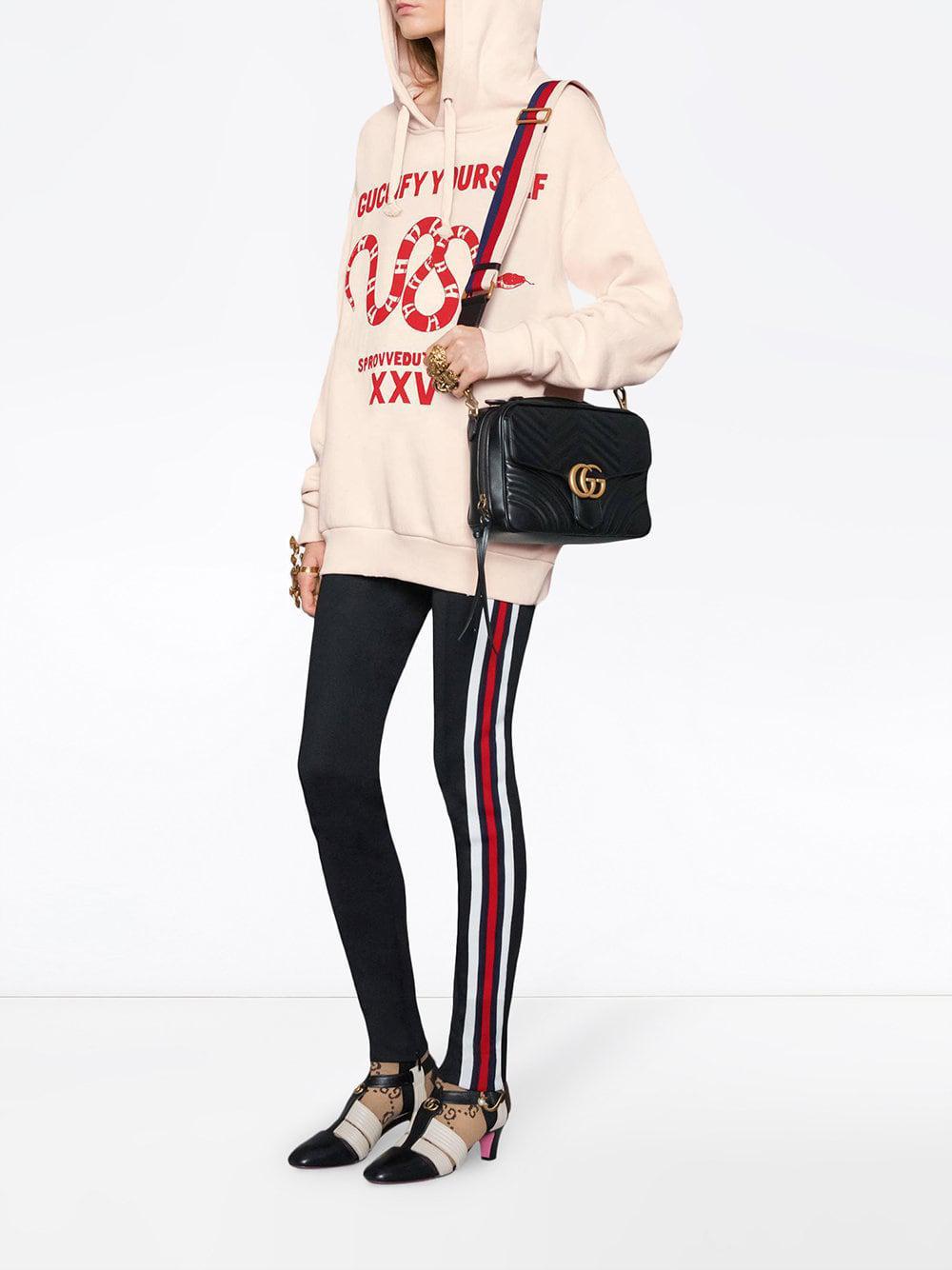 4134981d6d0 Gucci Gg Marmont Matelassé Shoulder Bag in Black - Save 15% - Lyst