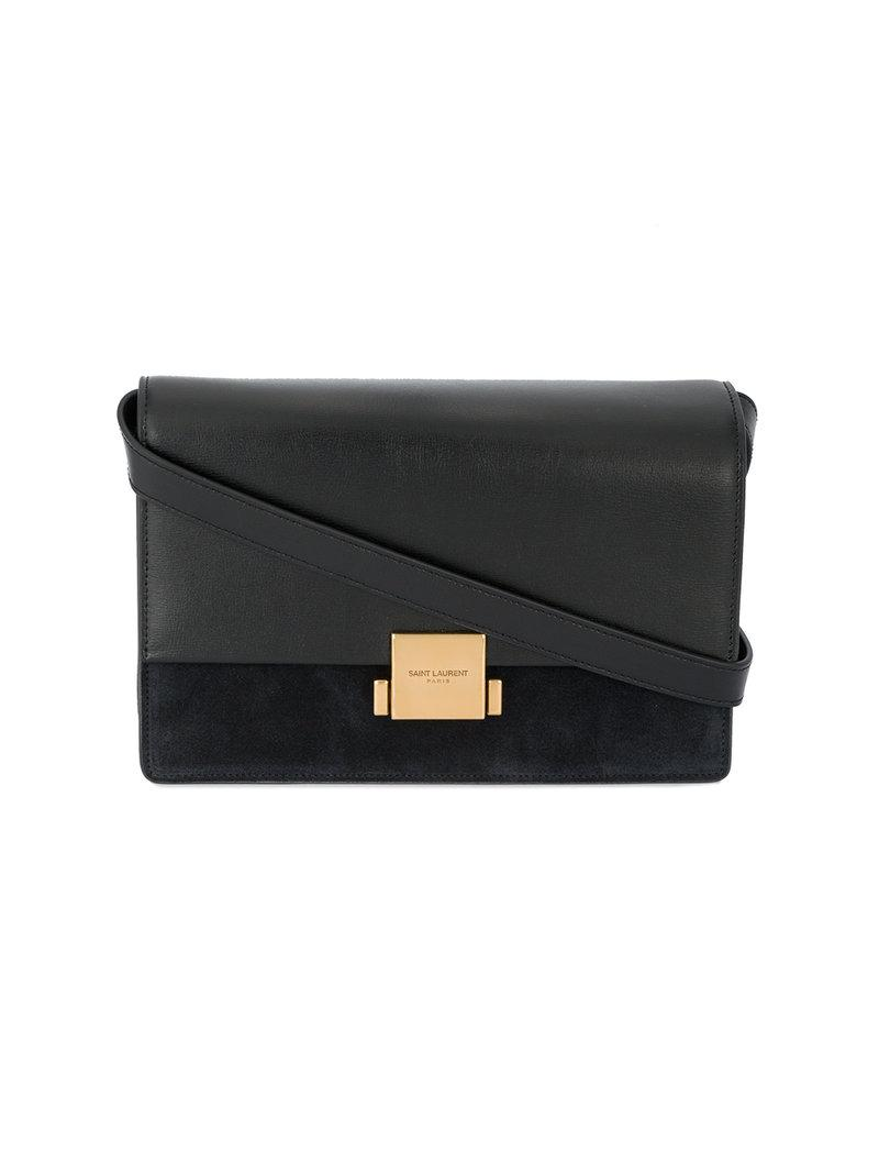 21245b96c6 Saint Laurent - Black Medium Bellechasse Shoulder Bag - Lyst. View  fullscreen