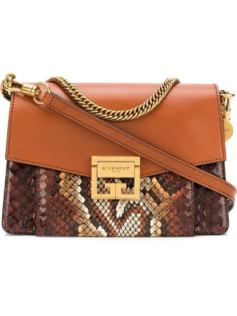 52d1e667ae Givenchy - Brown Gv3 Shoulder Bag - Lyst. View fullscreen
