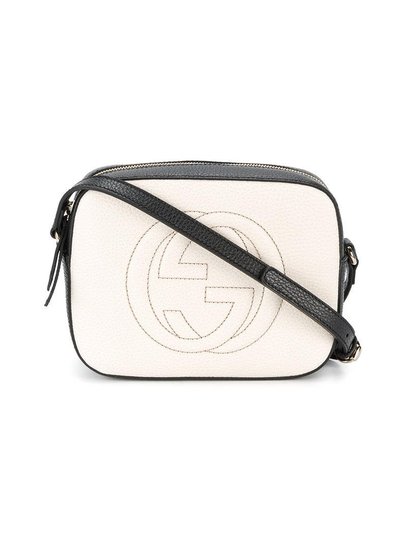 1a61cb27ff49 Lyst - Gucci Soho Shoulder Bag in Natural - Save 8%