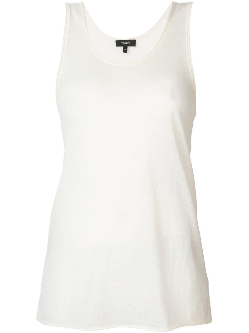 cashmere racerback top - White Theory Manchester Great Sale Sale Online 100% Guaranteed Sale Online Sale Manchester Great Sale Cheap Price Discount Authentic How Much Sale Online hqMs7taci