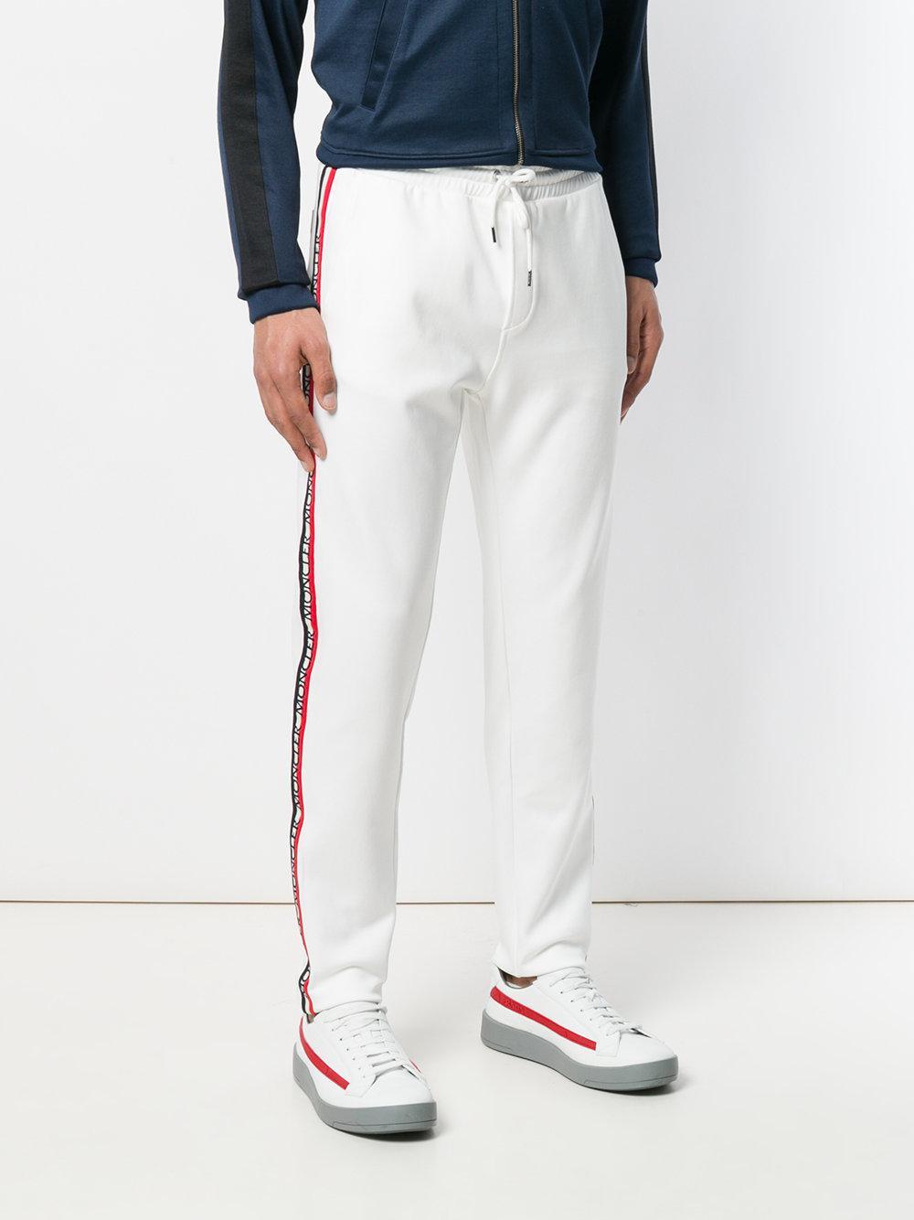 Bandes De Lyst Pour Pantalon En Logo Moncler À Jogging Homme QrCthsd