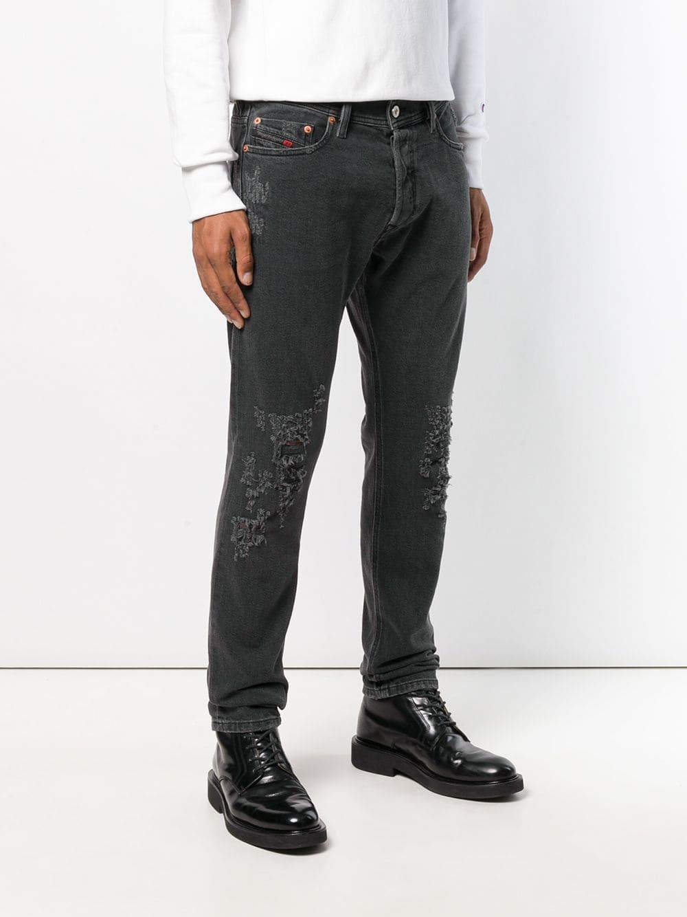 64ac8a0493e969 Lyst - DIESEL Tepphar 085aj Jeans in Black for Men