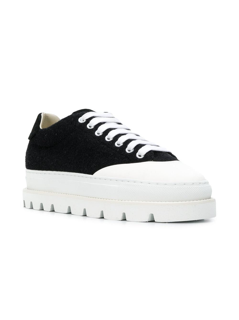 Martin By Mm6 Margiela Ridged Black Maison Sole Lyst In Sneakers 5tp4HqW4