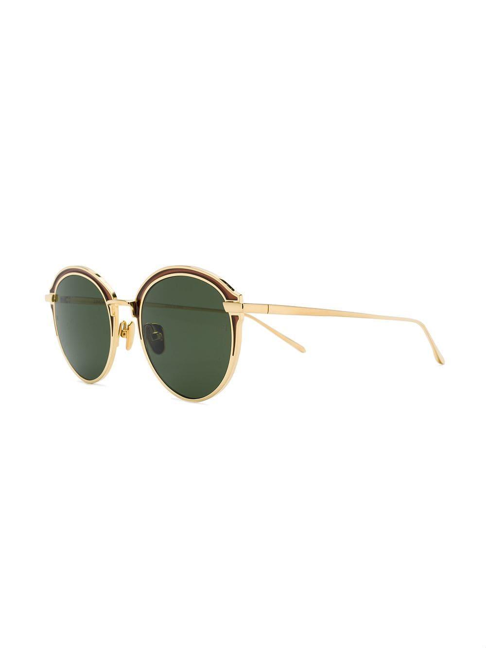 b99df7008b5 Linda Farrow 935 C5 Sunglasses in Metallic for Men - Lyst