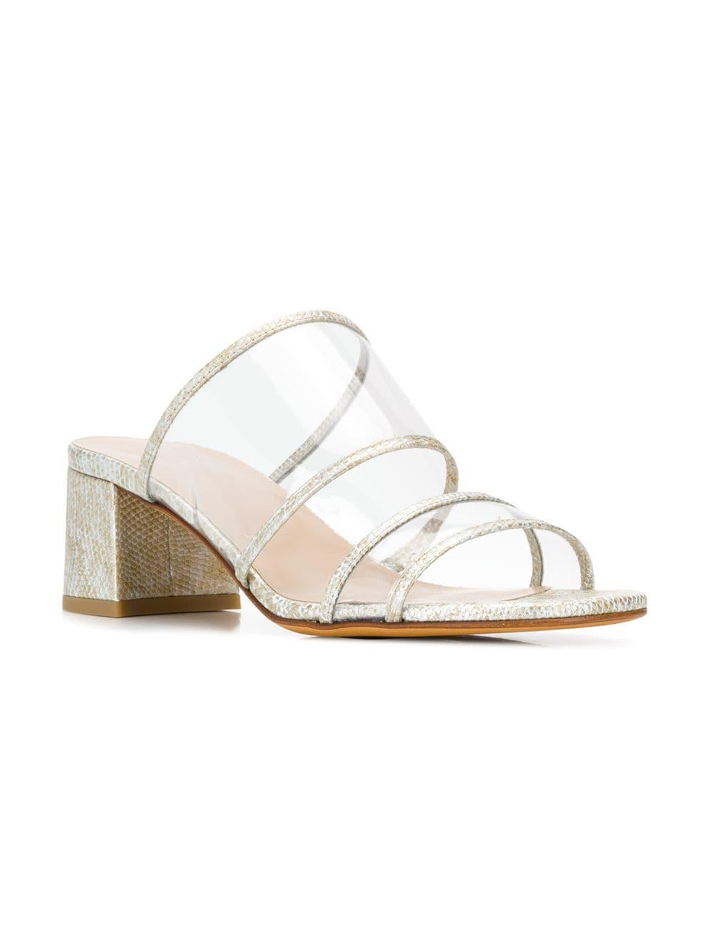 846d34110 Maryam Nassir Zadeh Martina Mules in White - Lyst