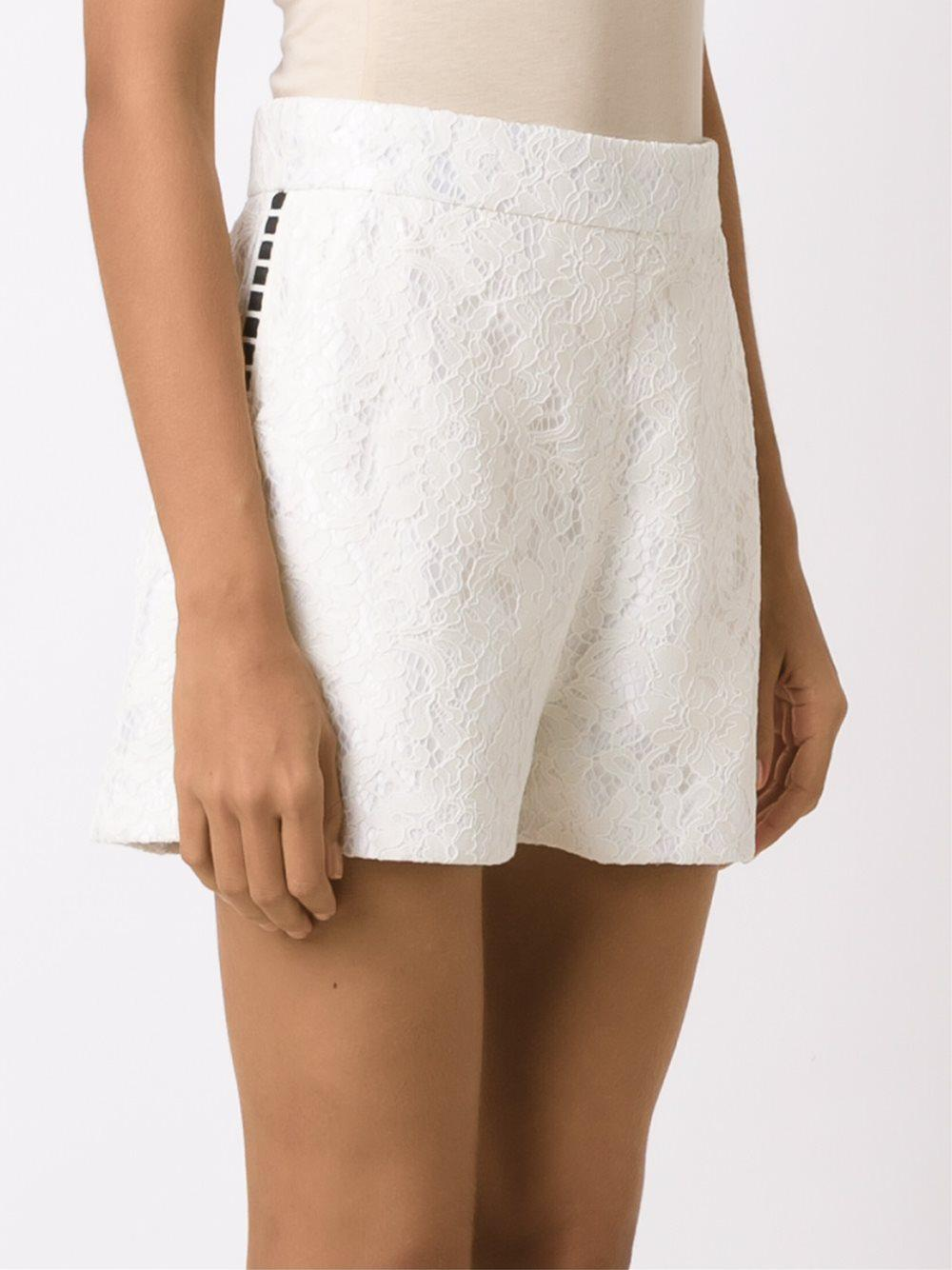 Discount Enjoy lace shorts - White Martha Medeiros Clearance New Buy Cheap Free Shipping 2018 Sale Online Recommend Cheap Price dG4mWB