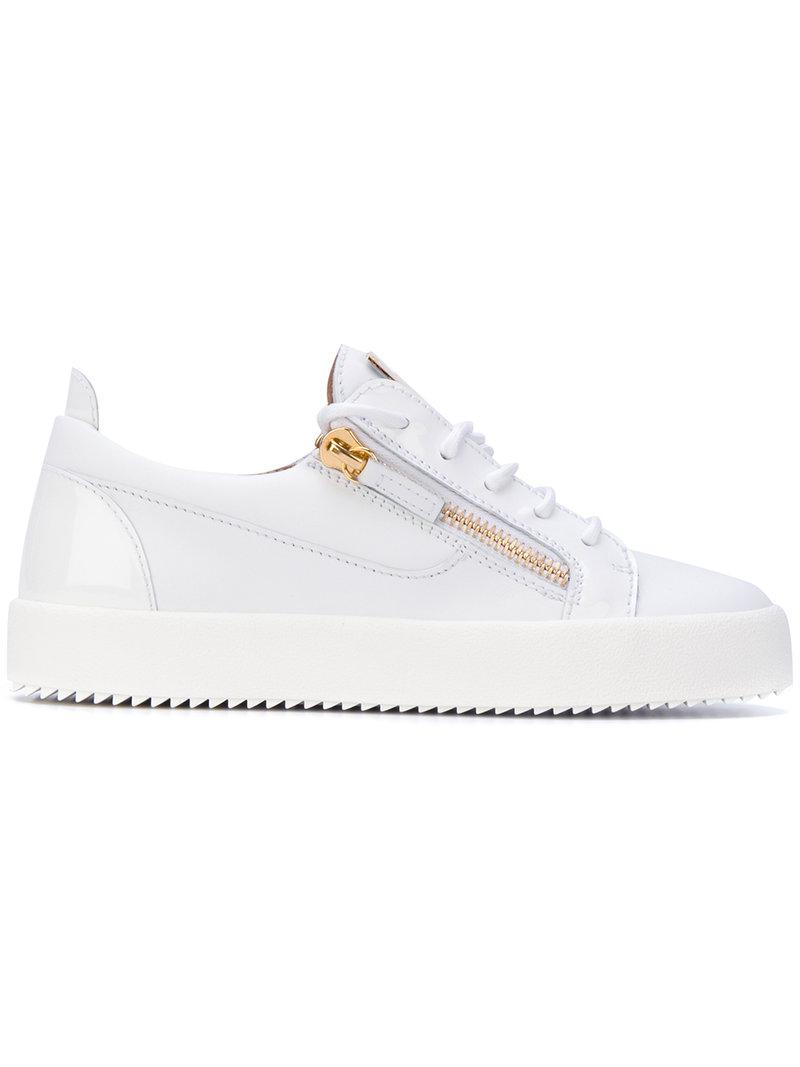 Giuseppe Zanotti Calf leather low-top sneaker NICKI T5dcHlnM7L