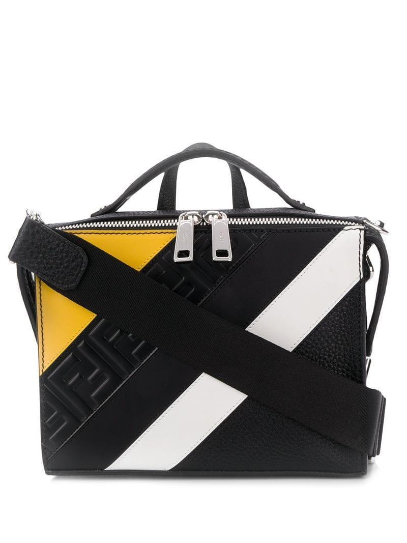 0c1b0632ed26 Lyst - Fendi Ff Motif Shoulder Bag in Black for Men