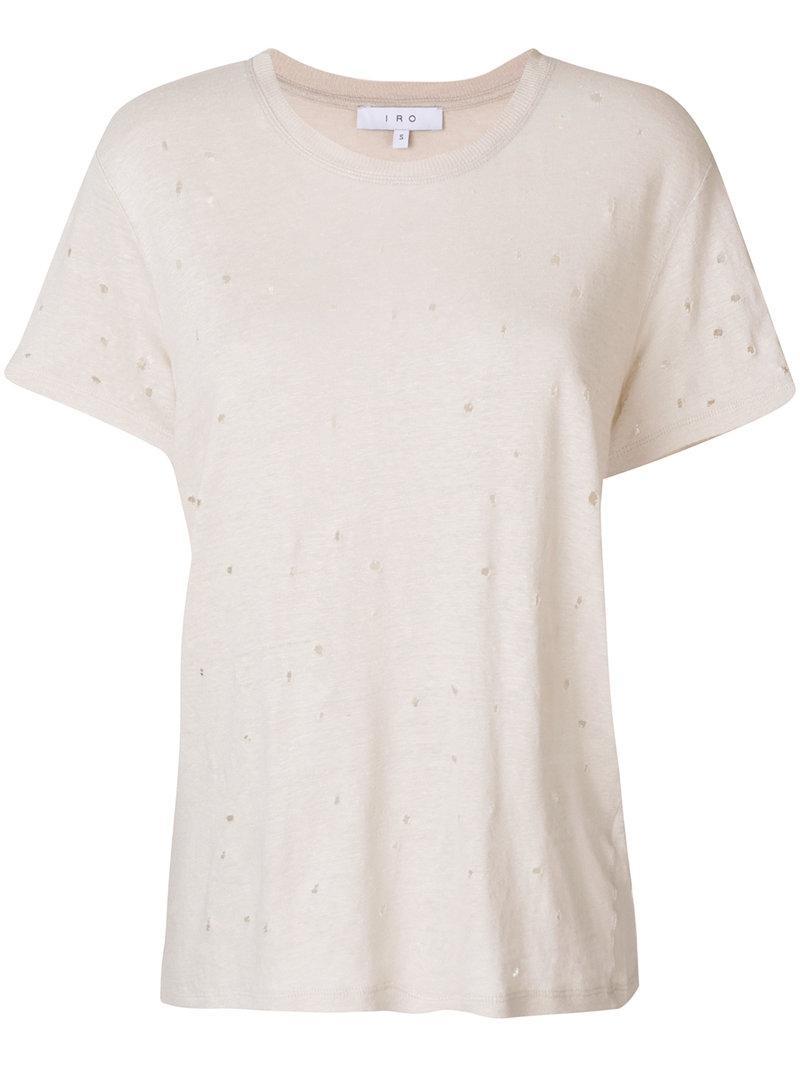 IRO Oversized T-shirt YnML15f