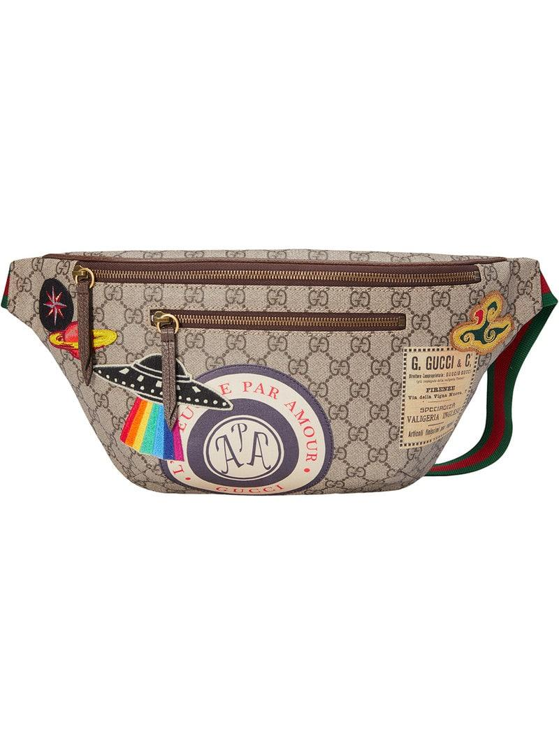 b46918f928196 Gucci Courrier GG Supreme Belt Bag for Men - Lyst