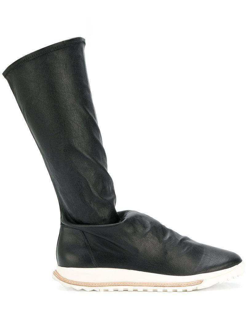 Givenchy Black Dirt Grafton Sock High-Top Sneakers