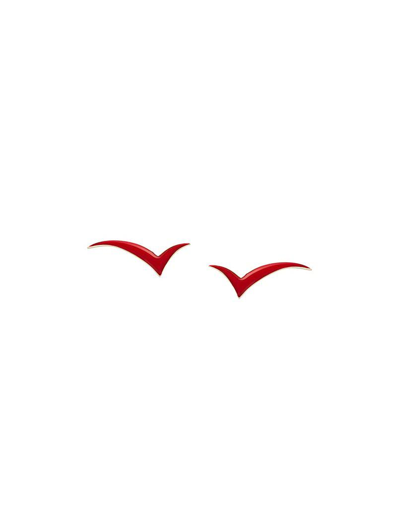 Eshvi Fly with Me earrings - Red EusxsS