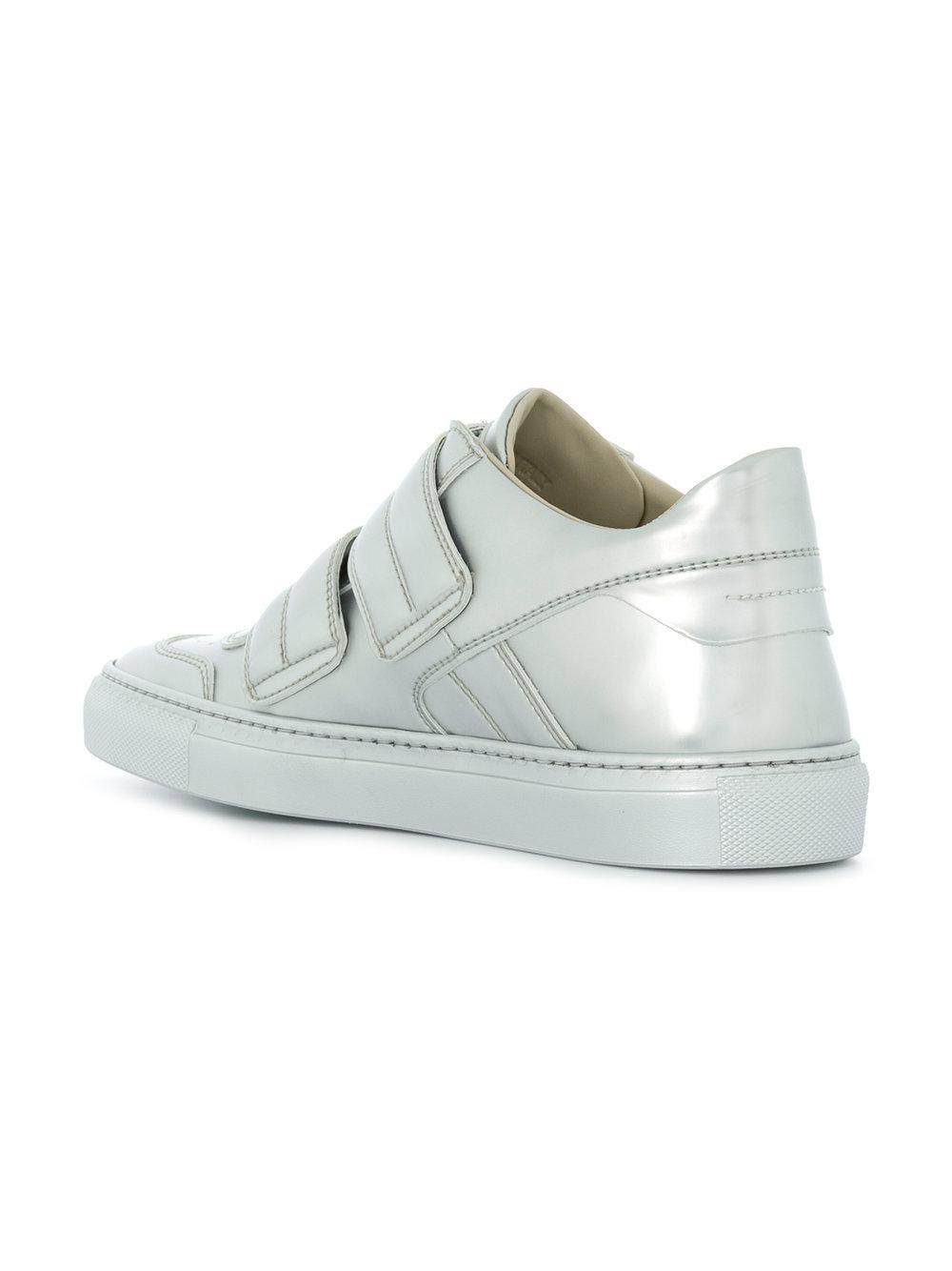 contrast strap sneakers - Grey Maison Martin Margiela