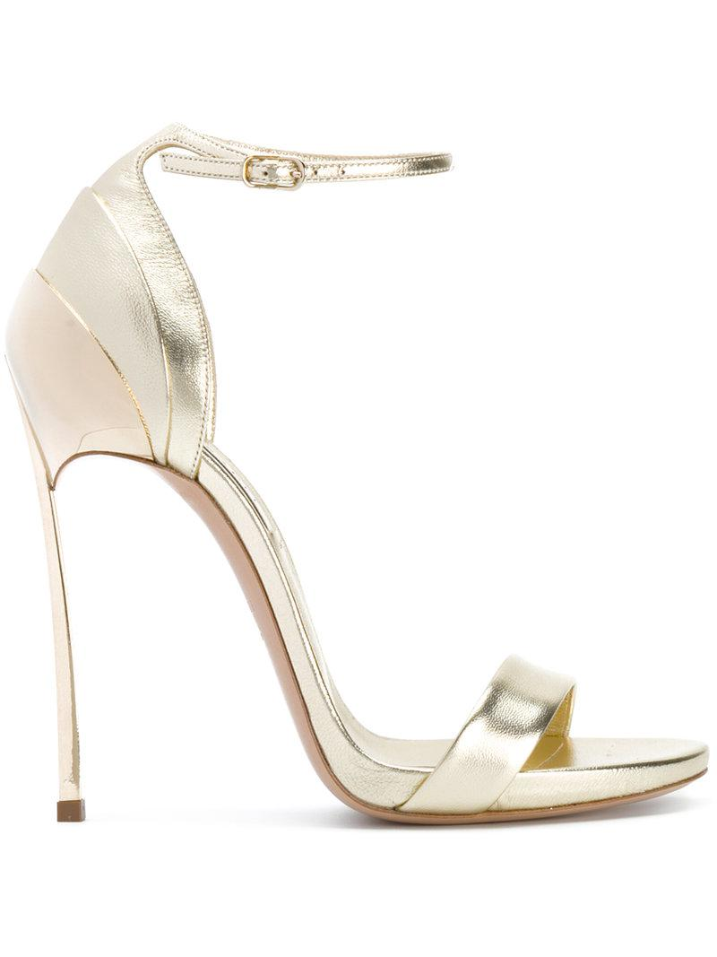 Casadei Layered heel sandals EavajPwb8m