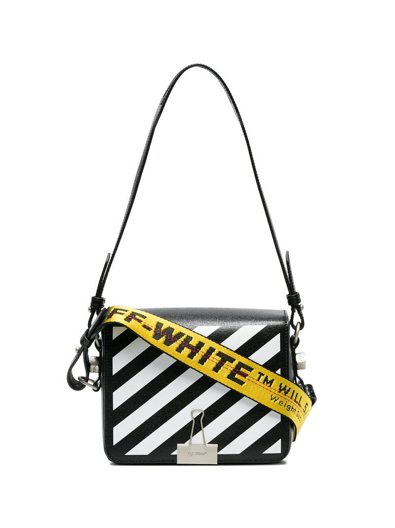 Discount For Cheap Real Online Off-White foldover clip shoulder bag Buy Cheap Looking For ztyrmg