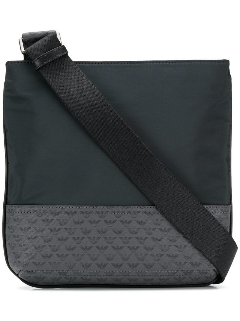 9785a97583a Lyst - Emporio Armani Messenger Bag in Blue for Men