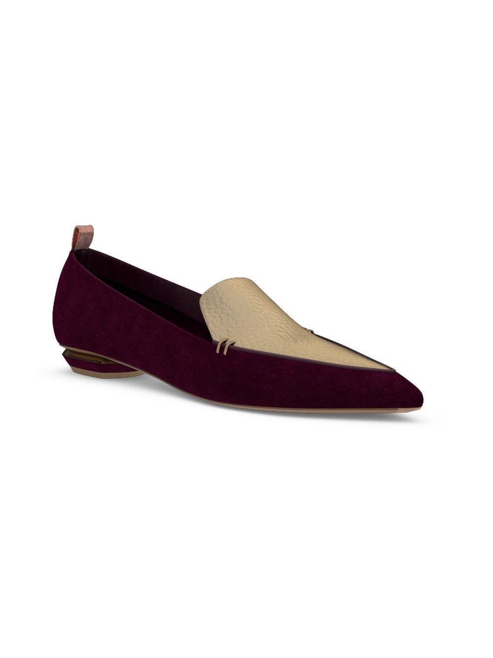 b26220d0785 Lyst - Nicholas Kirkwood Customisable Beya Loafers in Purple